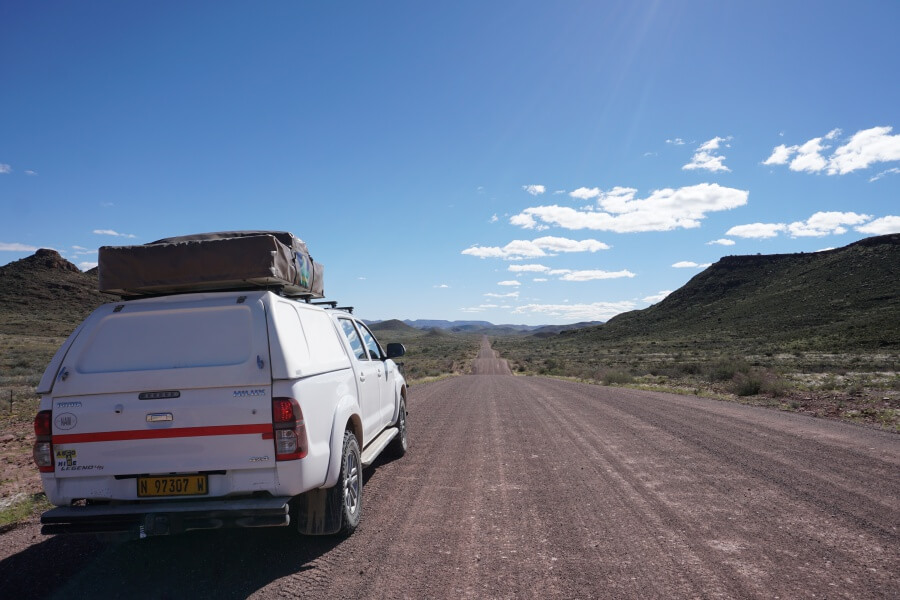 Roadtrip in die Tirasberge Namibia Reiseblog Road Traveller