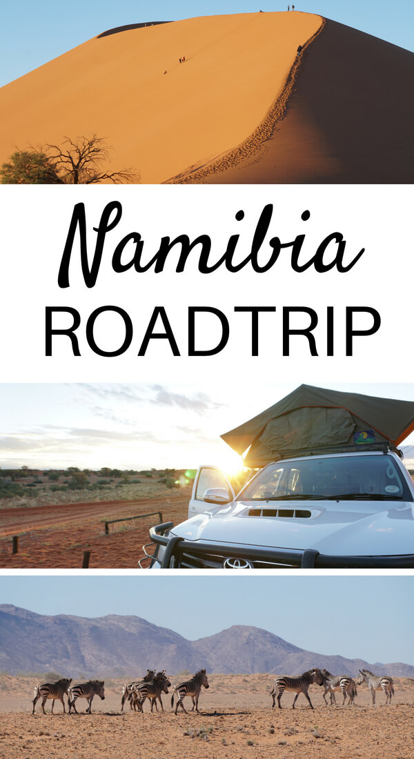 Roadtrip durch Namibia - Route, Tipps und Highlights