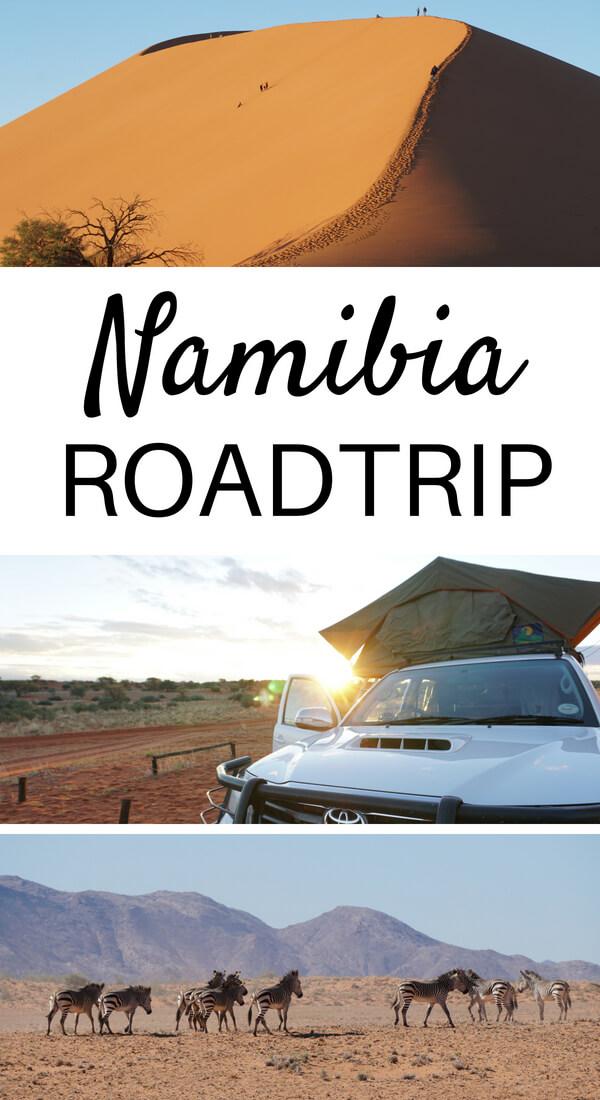 Roadtrip durch Namibia - Route, Tipps und Highlights
