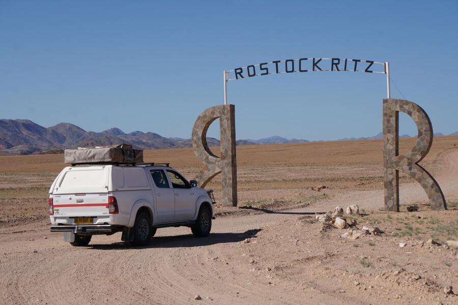 Camping auf der Campsite der Rostock Ritz Desert Lodge