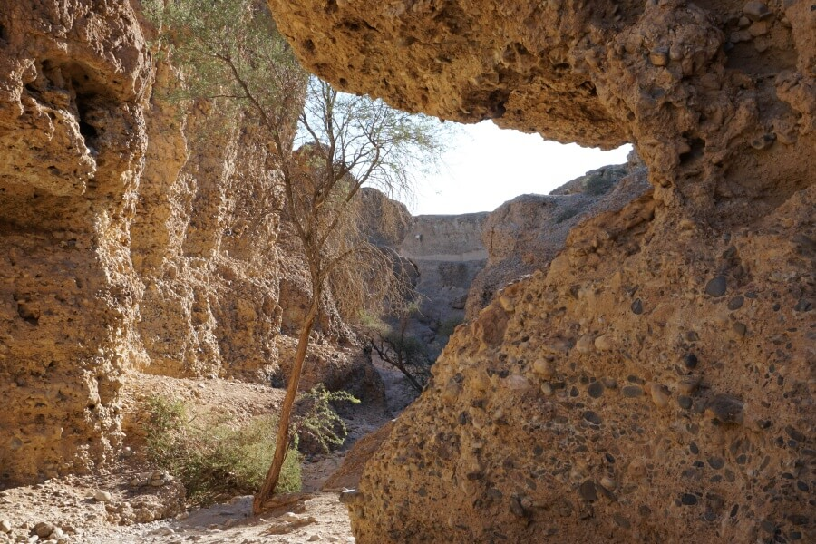 Der Sesriem Canyon im Namibia-Naukluft Nationalpark