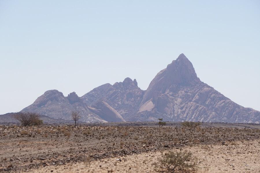 Die Spitzkoppe auf unserem Namibia Roadtrip