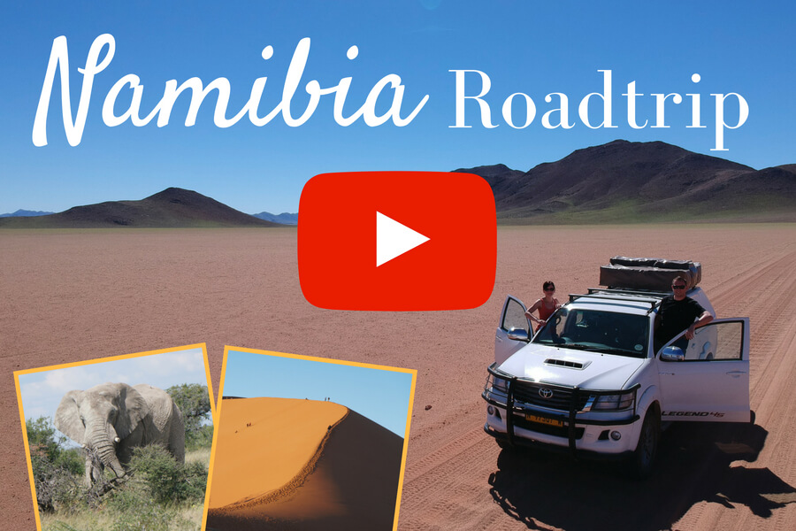 Namibia Roadtrip Video by Reiseblog Road Traveller