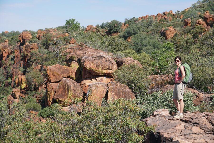 Wanderung auf das Waterberg Plateau Namibia