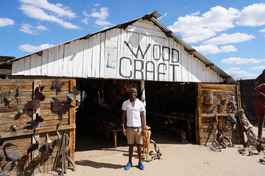 Auf dem Woodccarvers Market in Okahandja