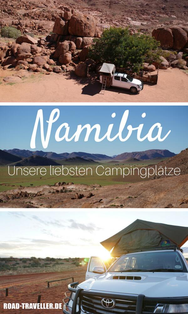Campingplätze in Namibia - unsere Lieblinge! Diese Campsites haben wir auf unserem Namibia Roadtrip besucht und für dich bewertet