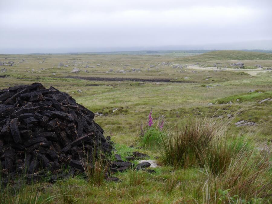 Connemara an der Westkueste Irlands