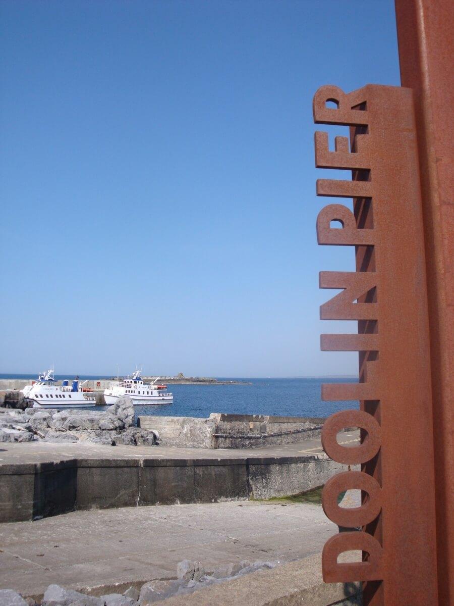 Doolin Pier in Irland