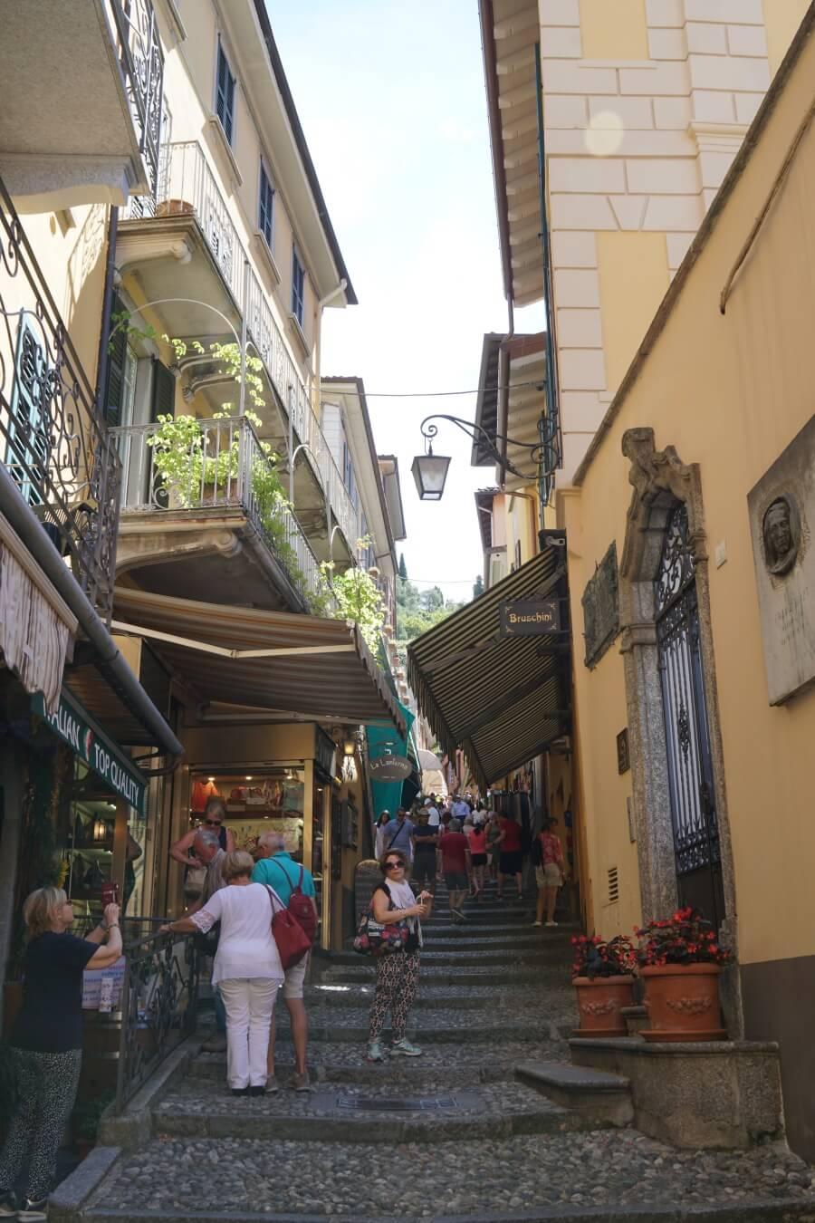 In der Altstadt von Bellagio am Lago di Como