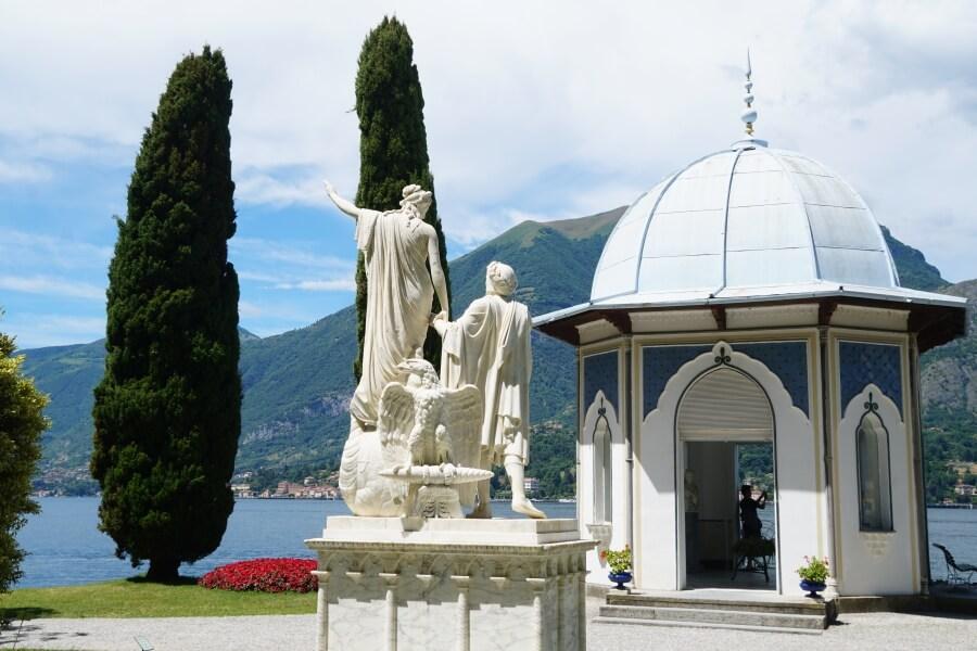 Garten der Villa Melzi in Bellagio