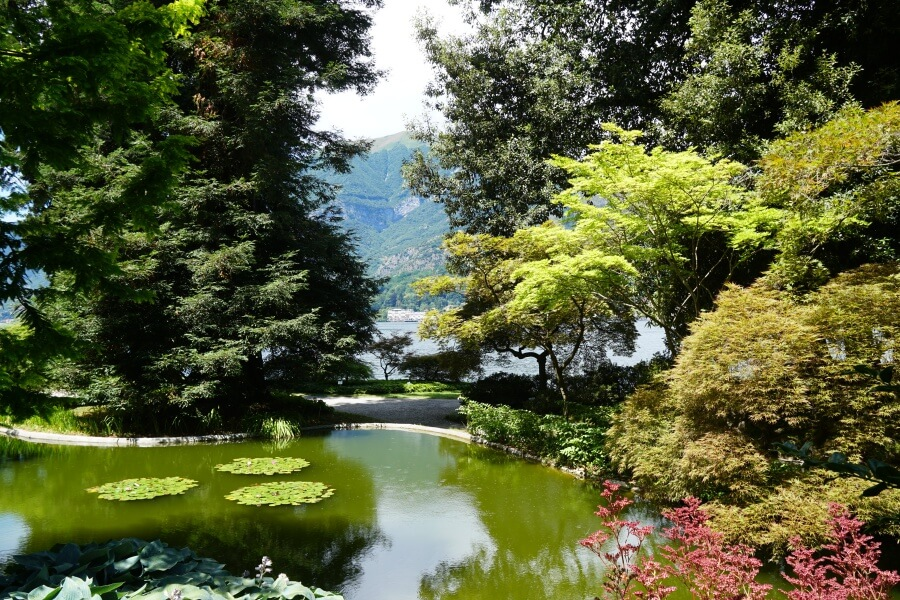Reisebericht Bellagio Garten der Villa Melzi am Comersee