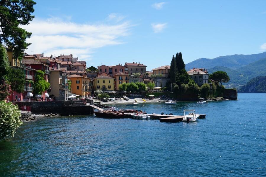 Varenna am Lago di Como