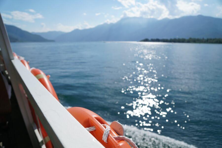 Den Comersee mit dem Boot erkunden