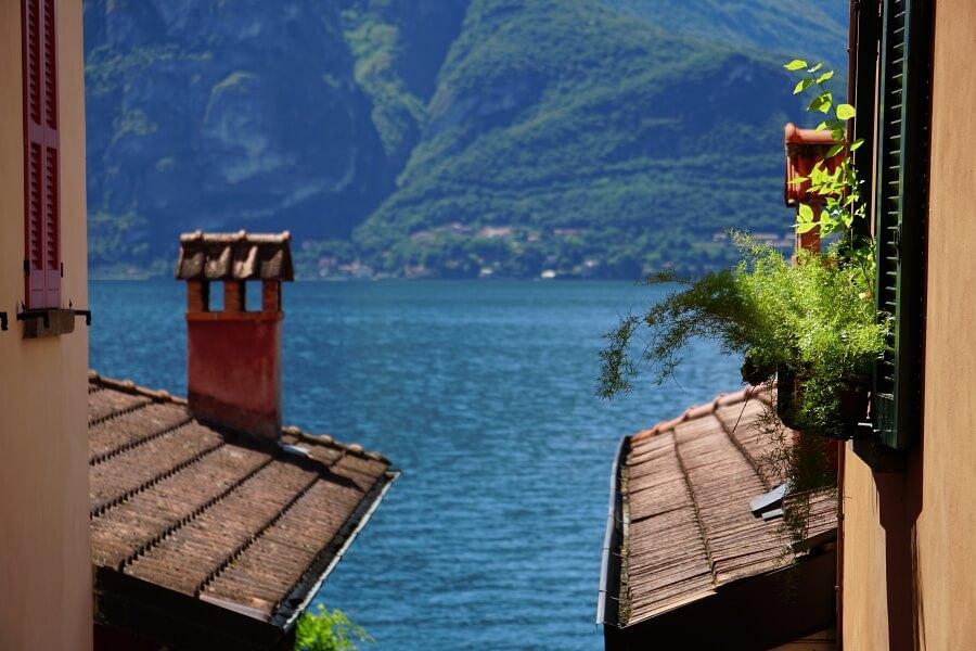 Varenna am Lago di Como in Italien