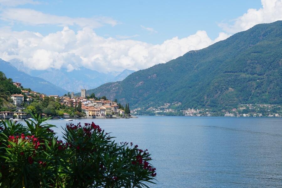 Angekommen in Italien am Lago di Como