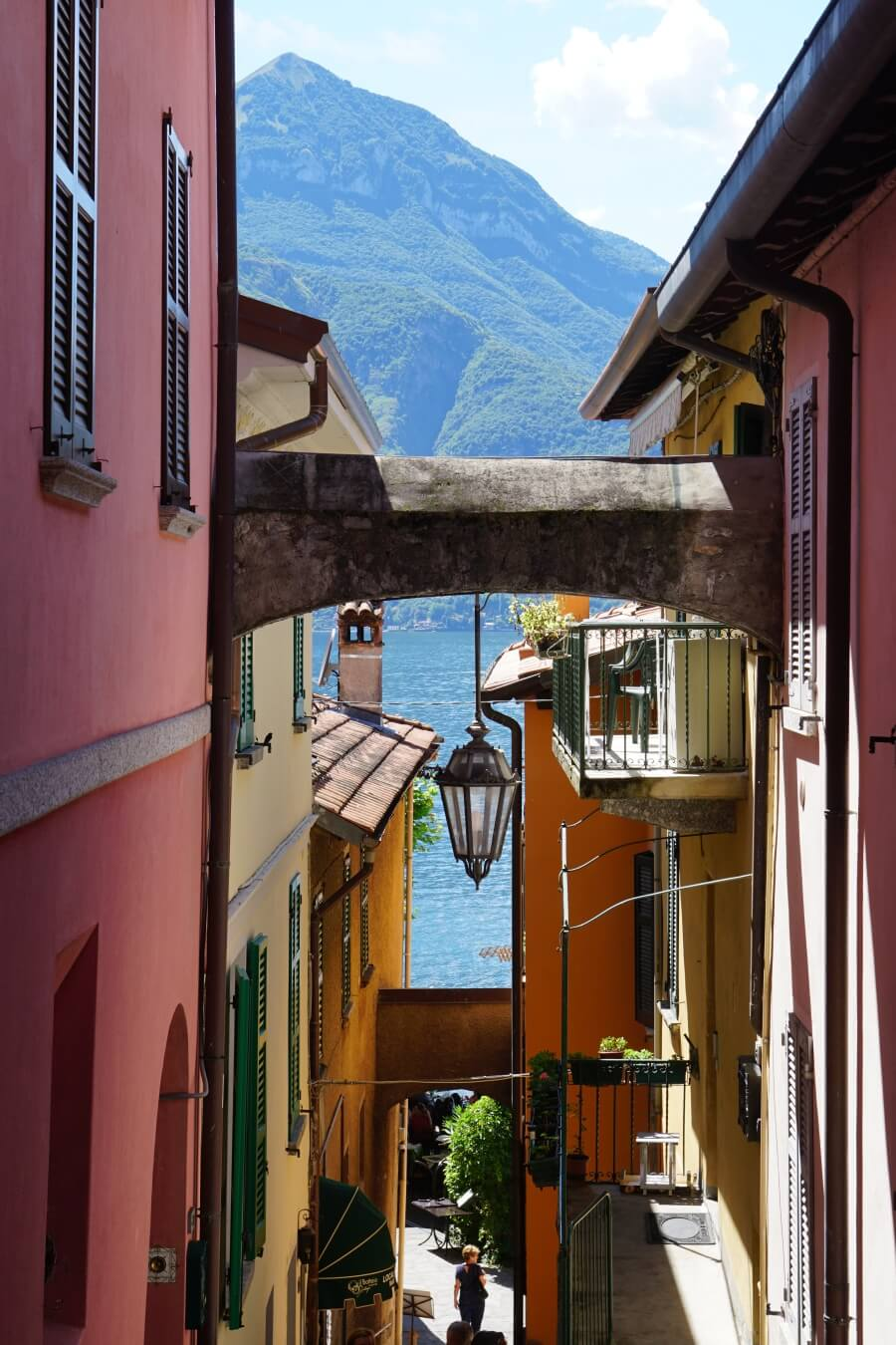 Varenna am Lago di Como in Norditalien auf unserem Roadtrip