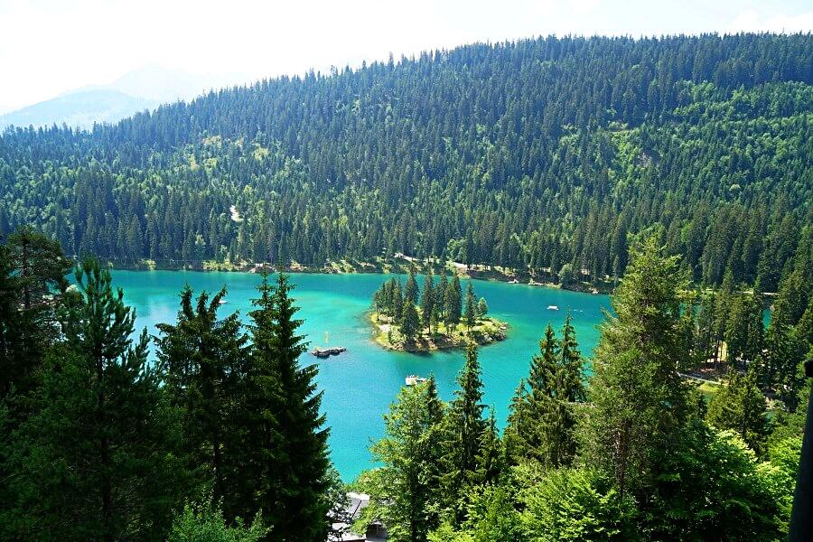 Wanderung an den Caumasee in Flims
