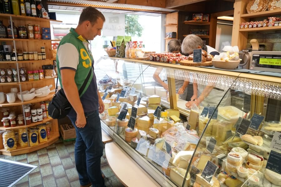 Kaese kaufen in Appenzell