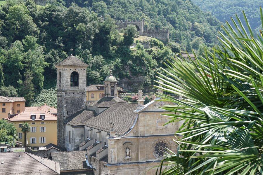 Bellinzona, die Hauptstadt des Tessin
