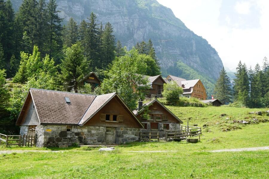 Wanderung zum Seealpsee bei Appenzell