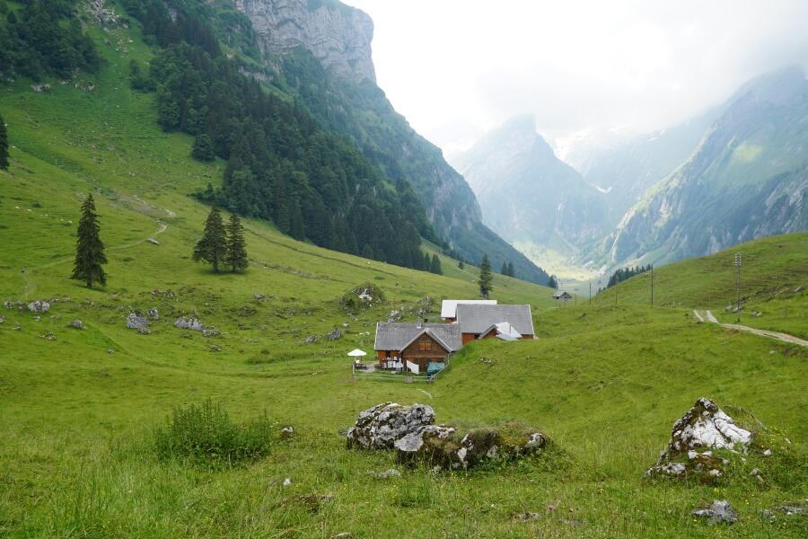 Wanderung zum Seealpsee im Appenzeller Land