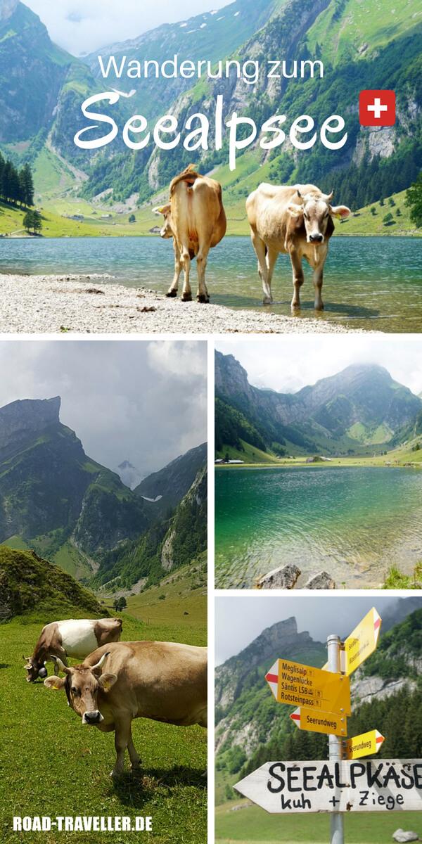 Unsere Wanderung zum Seealpsee bei Appenzell im Alpsteingebirge in der Schweiz