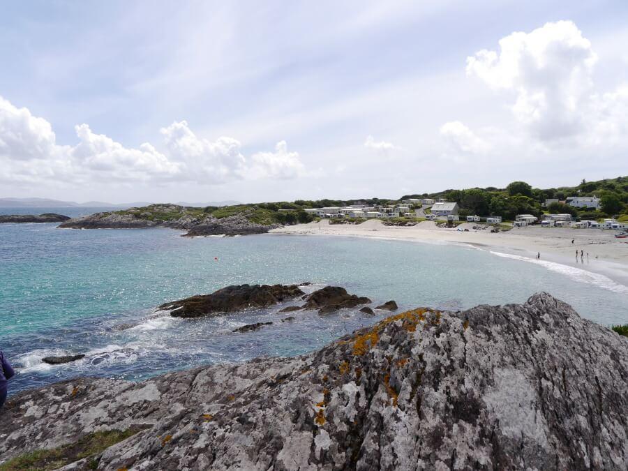 Inch Beach am Wild Atlantic Way in Irland