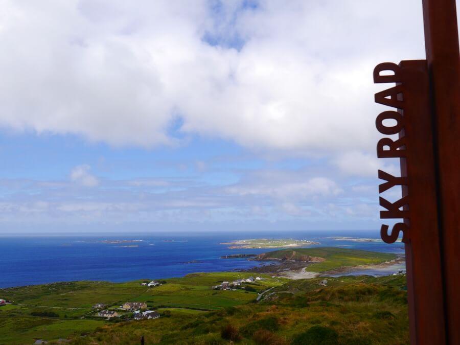 Sky Road am Wild Atlantic Way in Irland