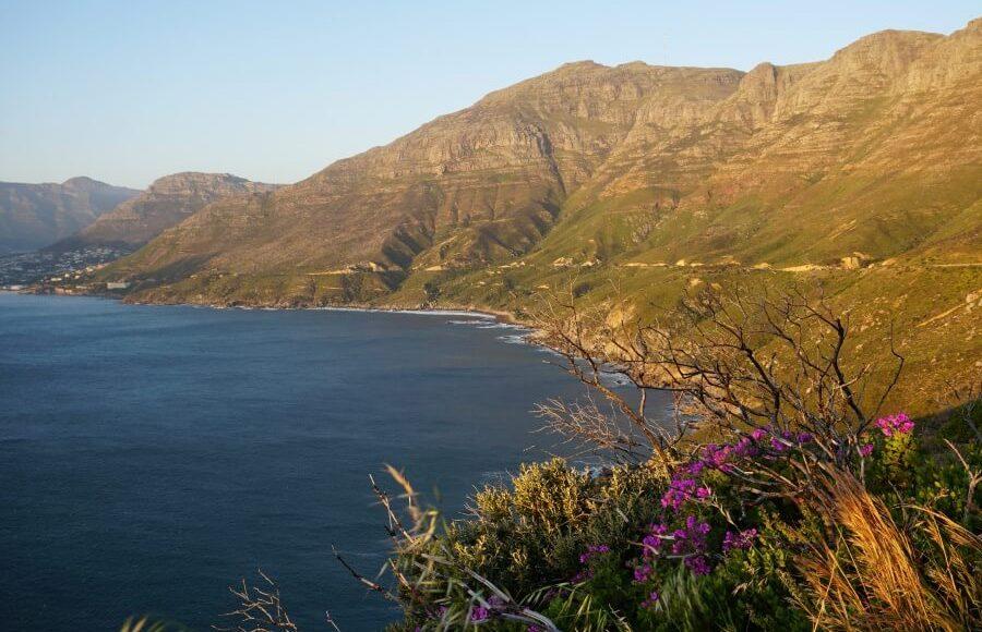 Traumhafter Chapmans Peak Drive in Kapstadt Suedafrika