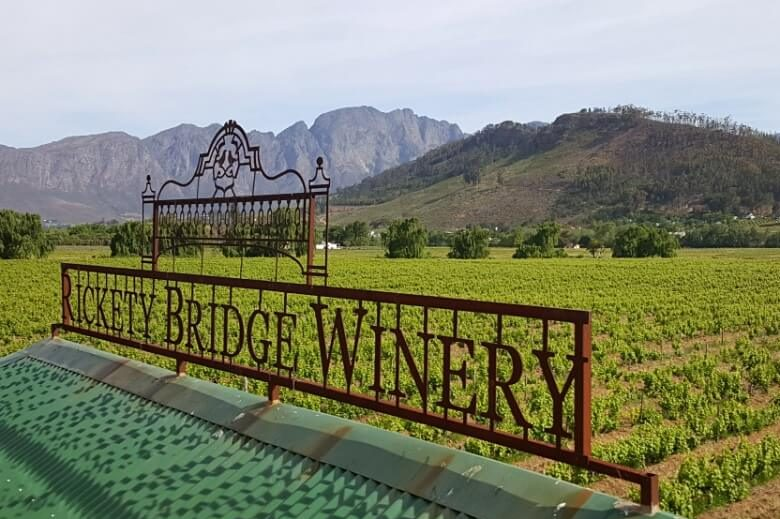 Wine Tram Station Rickety Bridge Winery Franschhoek