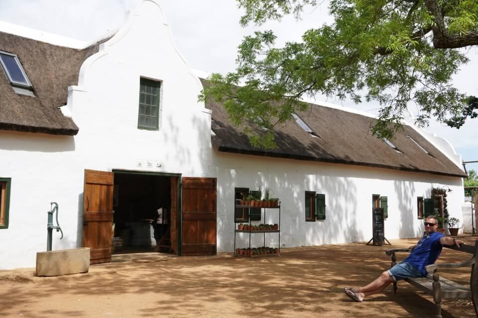 Farm Babylonstoren in den Cape Winelands Suedafrika