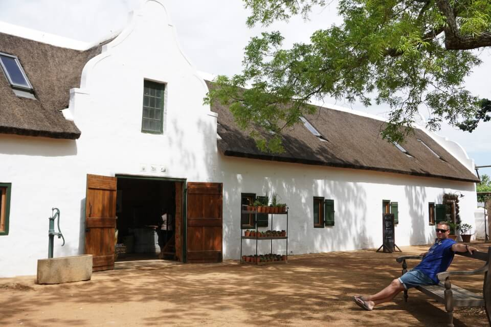 Farm Babylonstoren in den Cape Winelands Suedafrika