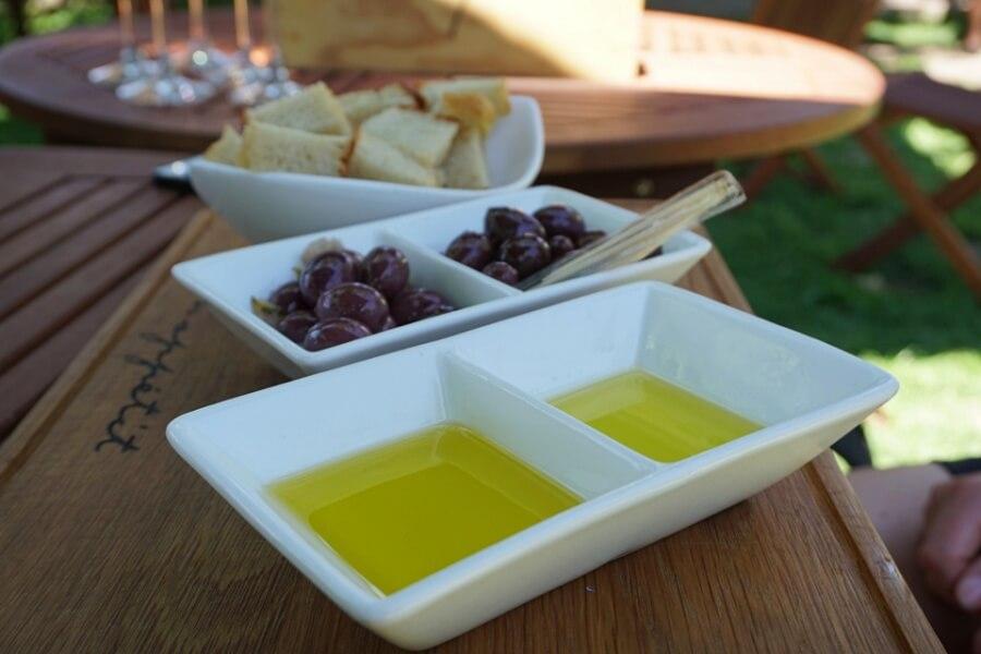 Oliven Tasting auf der Farm La Bourgogne