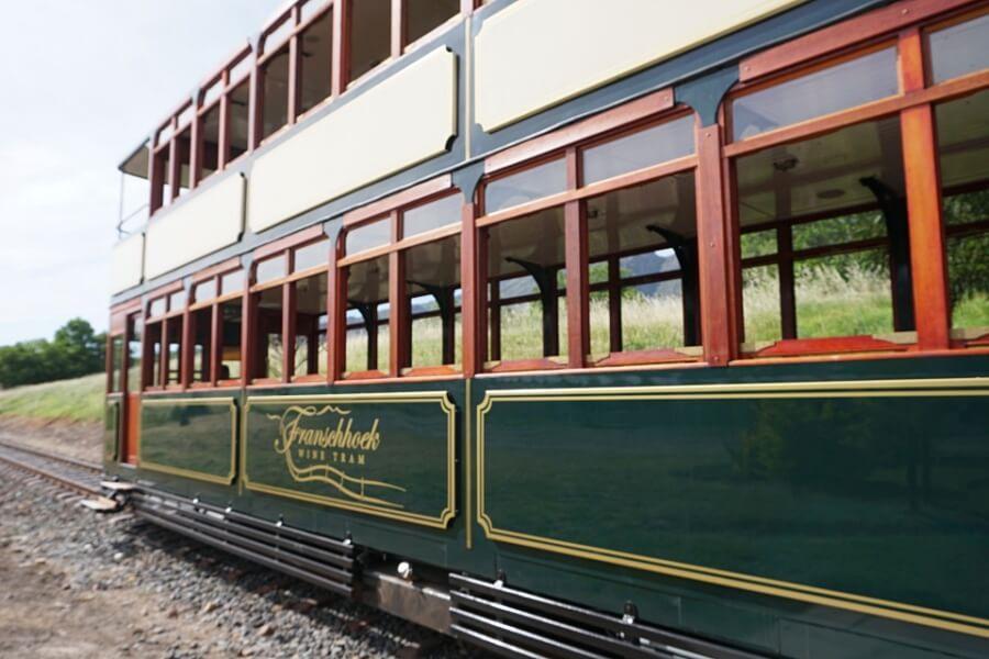 Unterwegs mit der nostalgischen Franschhoek Wine Tram
