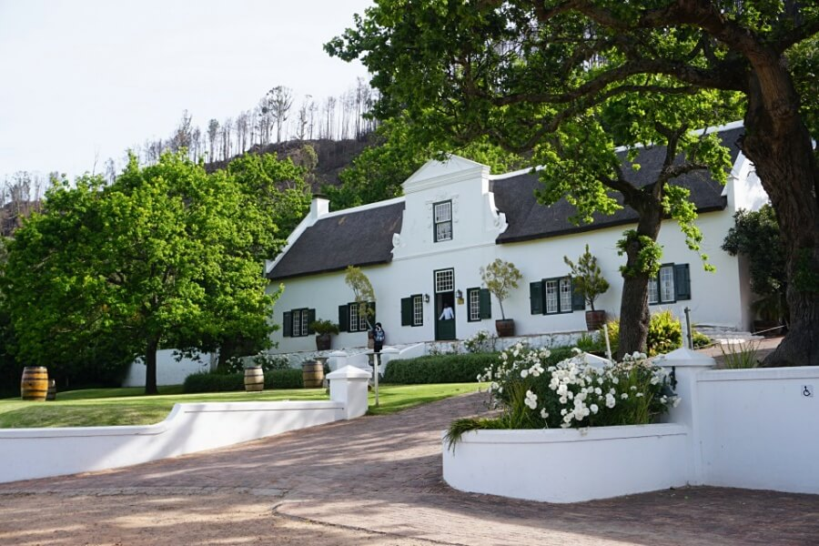 Rickety Bridge Winery Franschhoek