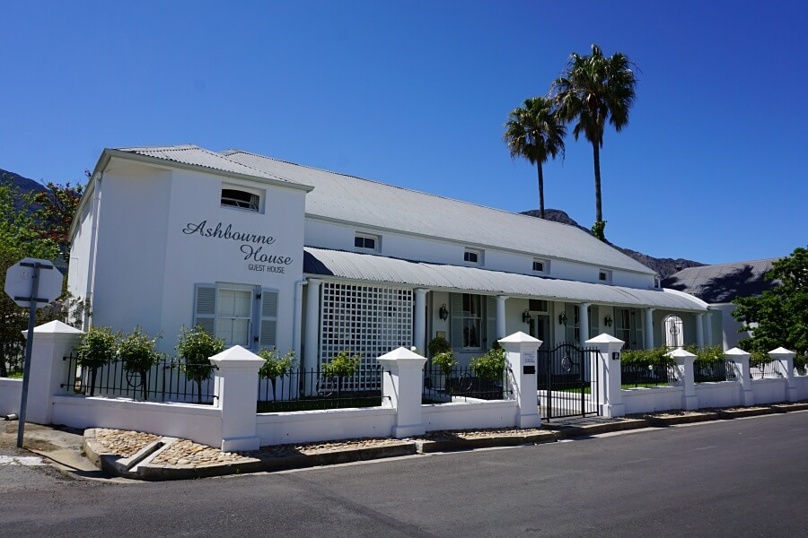 Ashbourne House B&B in Franschhoek Suedafrika