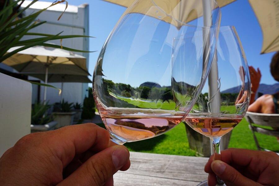 Wine Tasting auf dem Weingut Holden Manz in Franschhoek