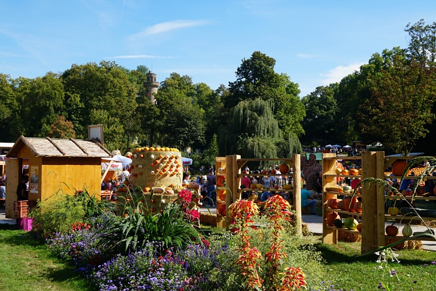 Kuerbisausstellung im Bluehenden Barock in Ludwigsburg