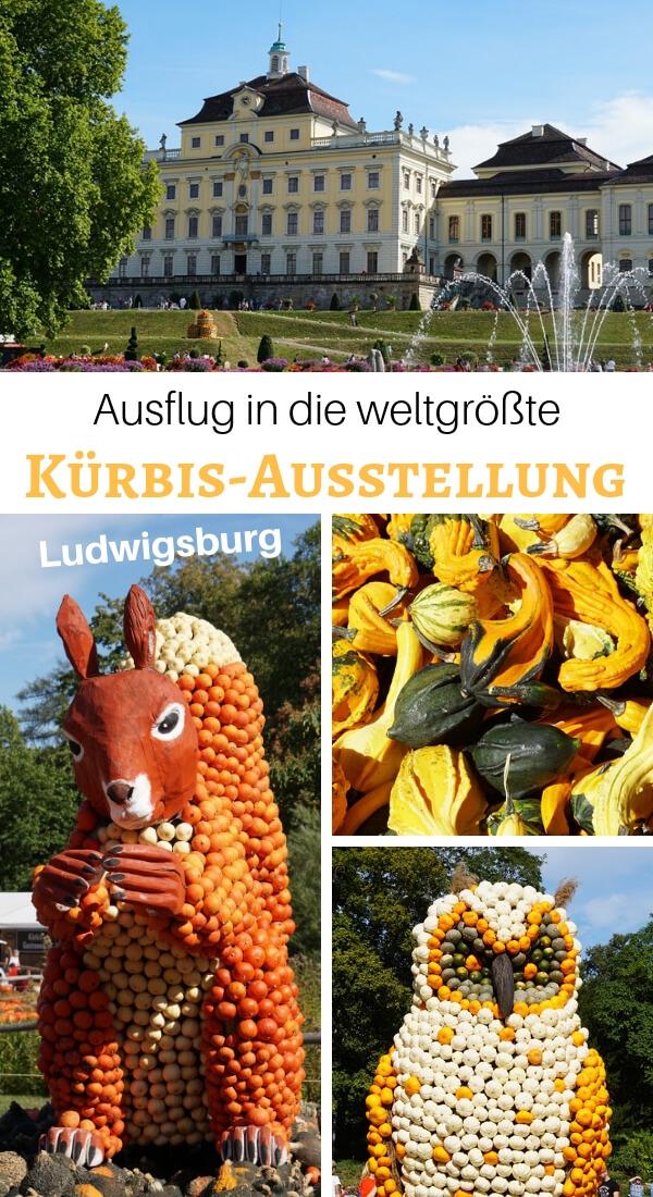 Mit Fuchs und Hase unterwegs auf der weltgrößten Kürbisausstellung im Blühenden Barock in Ludwigsburg