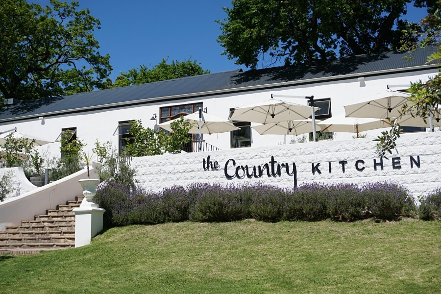 Bistro The Country Kitchen in Franschhoek in Suedafrikas Winelands