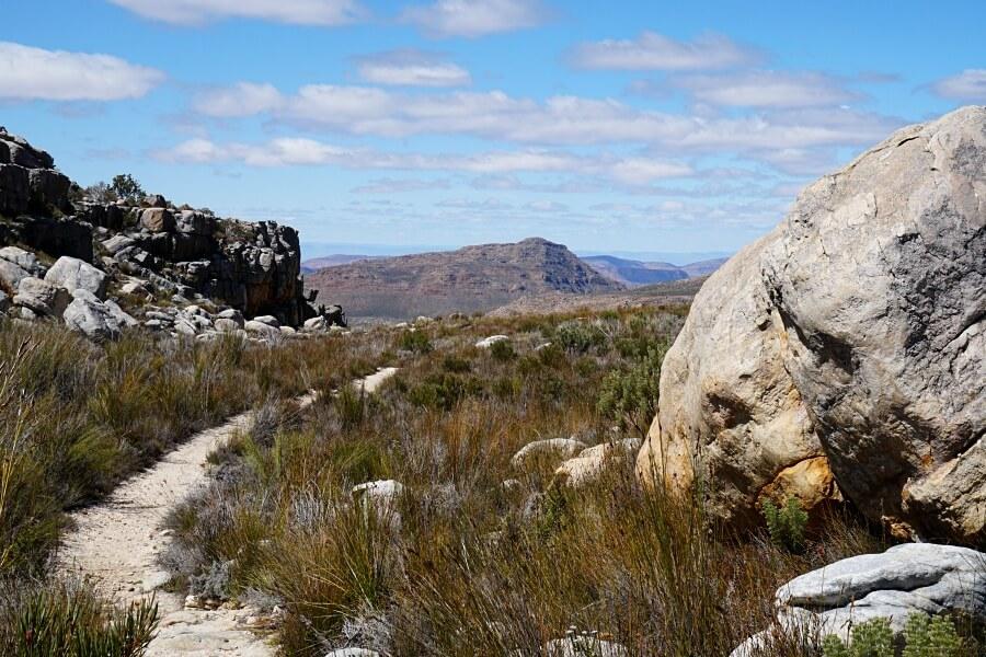 Tolle Natur und Felsformationen in den Cederbergen Suedafrika