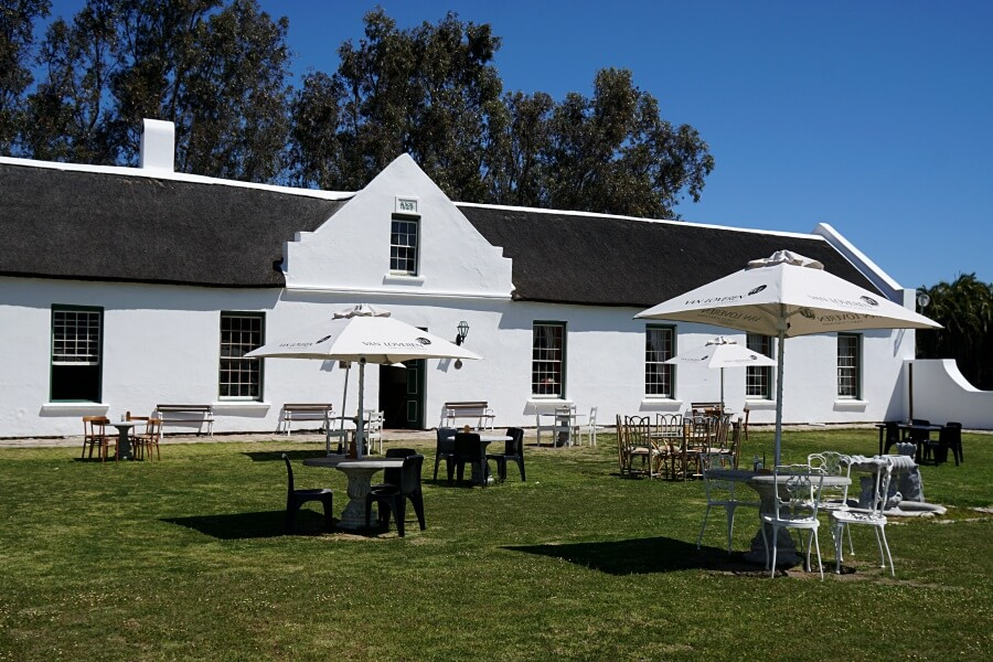Geelbek Restaurant und Visitors Center im West Coast Nationalpark