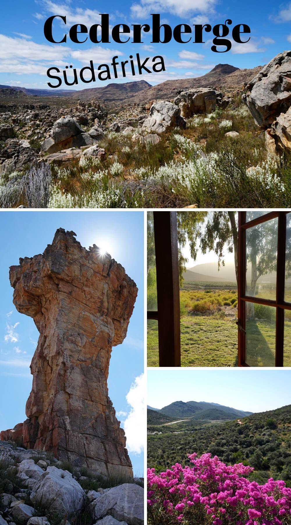Die Cederberge: Wandern und Roadtrip in wilder Natur! Wir zeigen dir unsere Highlights und Wanderungen in den Cederberg Mountains in Südafrika #Südafrika #Cederberge #CederbergMountains