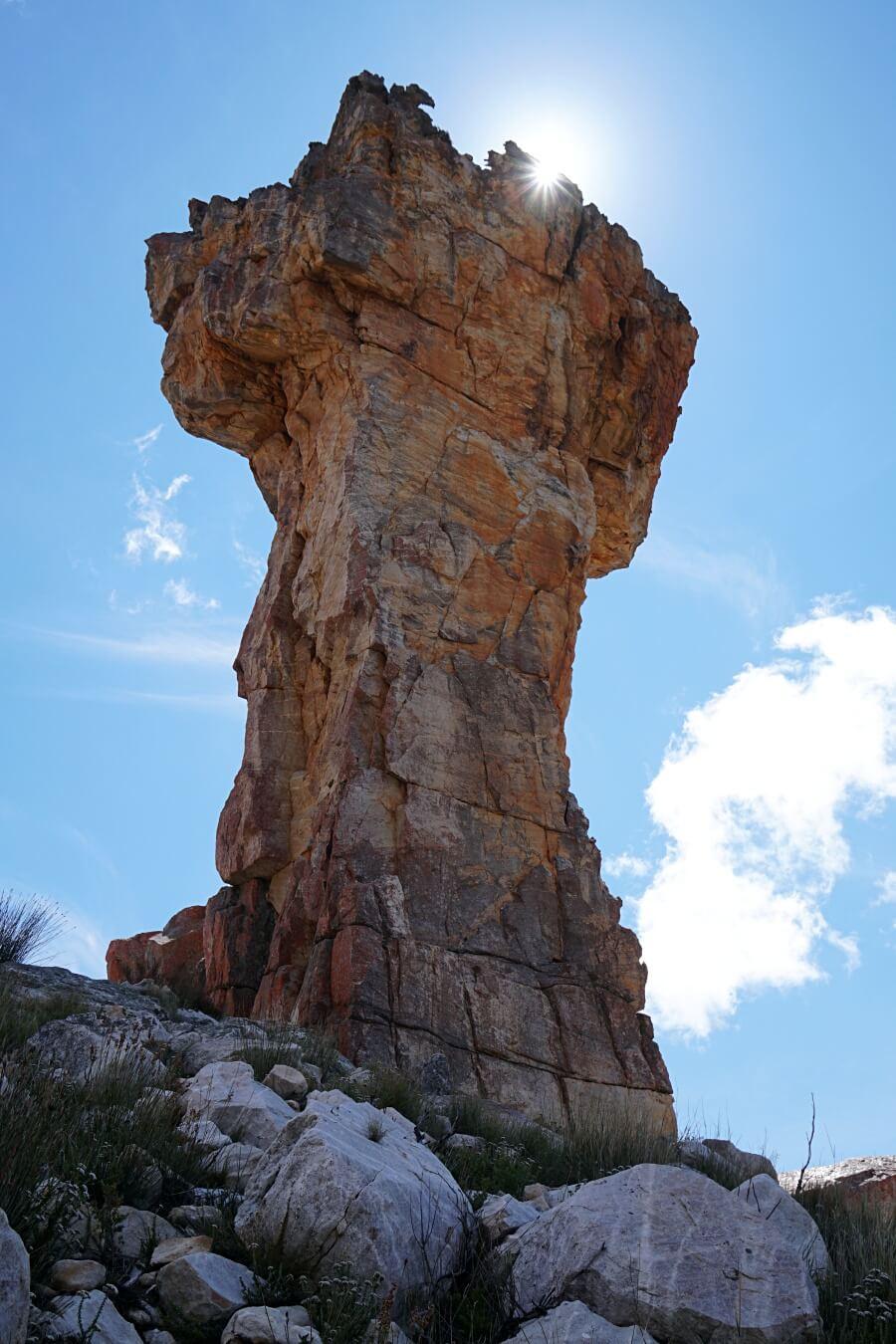 Beeindruckendes Maltese Cross in der Cederberg Wilderness Area