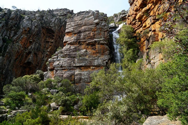 Wasserfall in den Cederberg Mountains bei der Algeria Forest Station