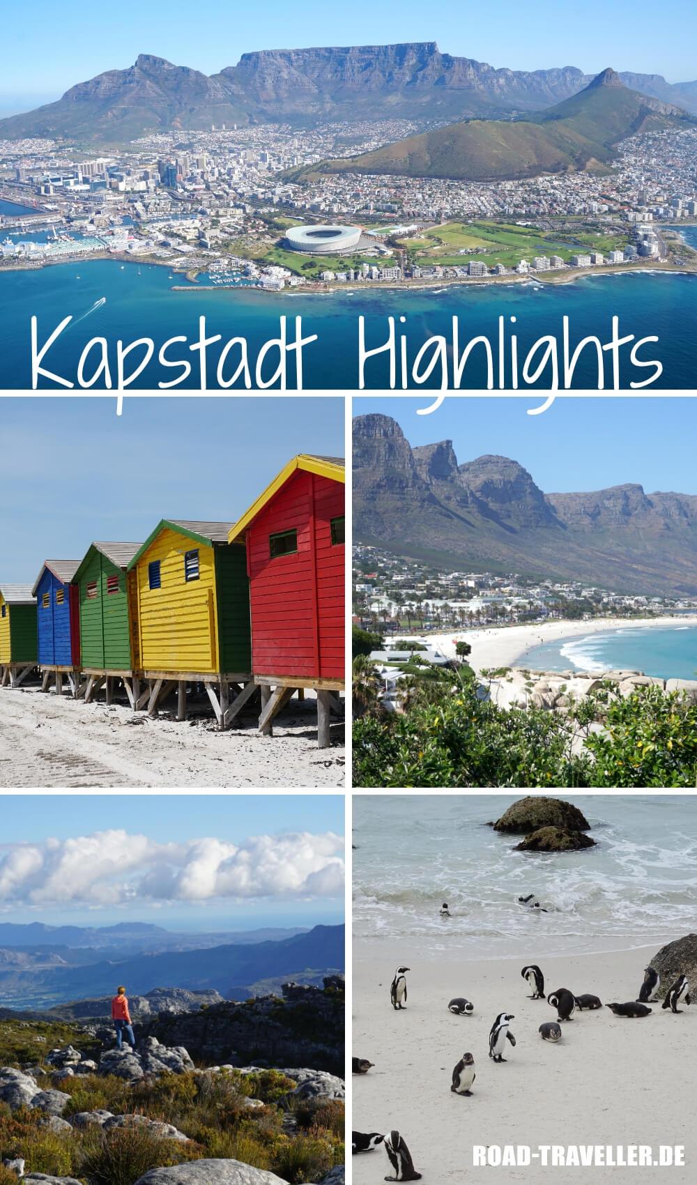 Die besten Sehenswuerdigkeiten und unsere persoenlichen Highlights in Kapstadt