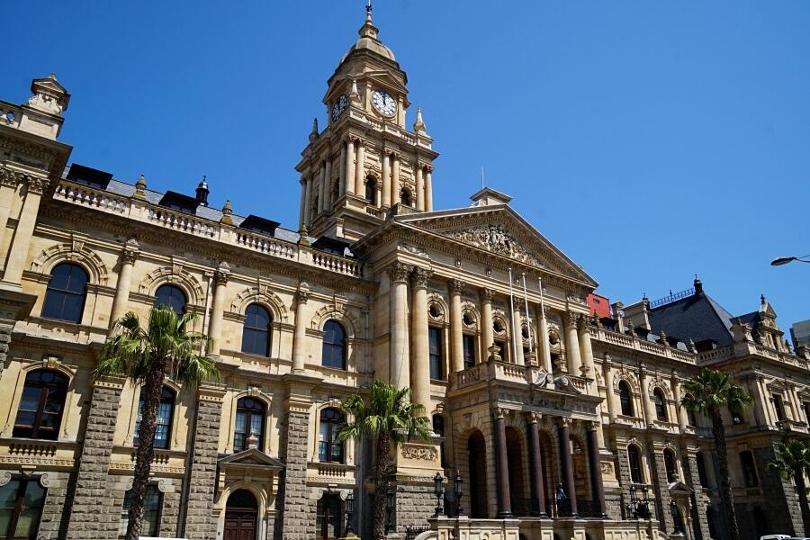Die City Hall in Kapstadt