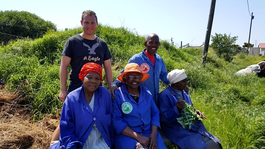 Weingaertnerinnen der Township Winery in Gugulethu