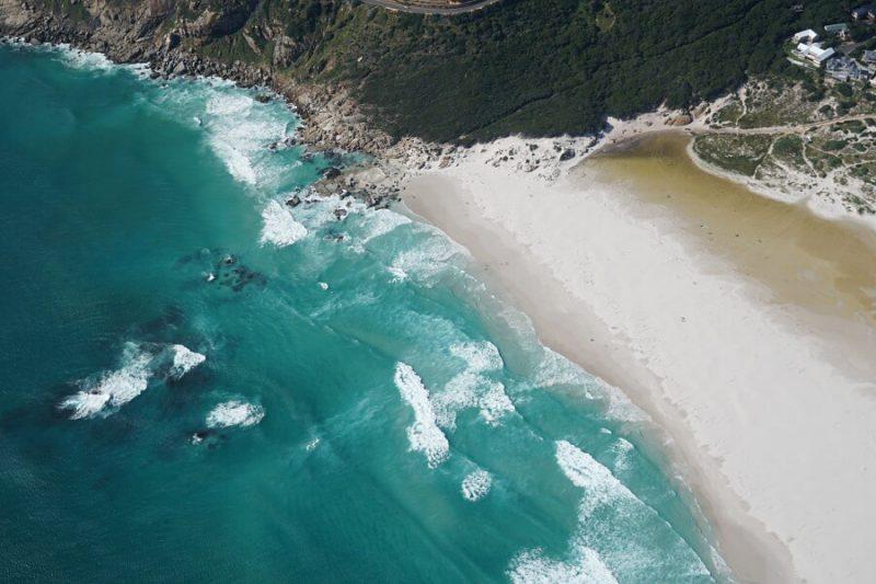 Kapstadt Sehenswuerdigkeiten von oben aus dem Helikopter erleben - ein tolles Erlebnis