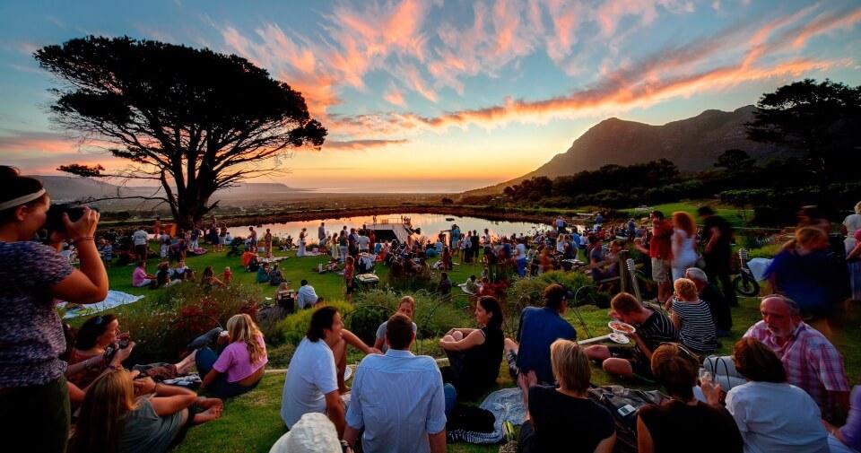 Thursday Market auf den Cape Point Vineyards in Noordhoek Kapstadt